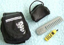 Small Mini LIL BRATZ Doll Size Accessories BAGS Comb MOBILE PHONE