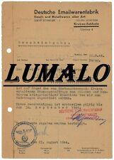 Oskar Schindler LA LISTE DE SHINDLER - le document qui a sauvé plus 1 000 Juifs