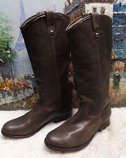 Frye 'Melissa Button' Boot - Gray - Size 8.5B - $368
