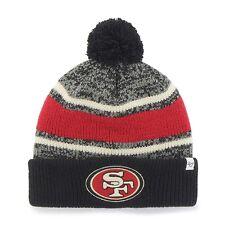 Nfl Woolly Hat San Francisco 49ers Winter Hat Pom Fairfax Cuffed Knit Hat Bobble