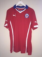 Authentic Puma *CHILE* World Cup Soccer Jersey Men's Large Futbol