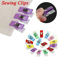 100Pcs Mini Multicolor Pack Clips DIY Crafts Quilting Sewing Knitting Crochet US
