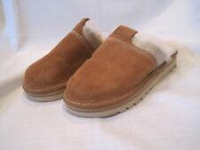 Sorel Newbie Slide Slipper women's 5 brown sandals faux fur