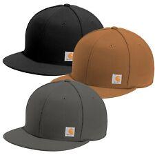 Carhartt Ashland Hat Flat Bill Cap - Adjustable - Choose Color - New w/ Tags