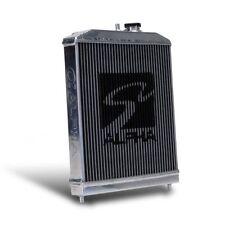 Skunk2 Racing 349-05-1550 Alpha Series Half Radiator Fits 88-91 Civic/CRX