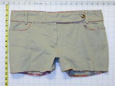 Rampage sz 11 Juniors Womens Light Brown Tan Casual Shorts Stretch C0050