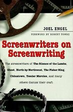 Screenwriters on Screen-Writing by Joel Engel (2000, Hardcover) HOLLYWOOD WRITE