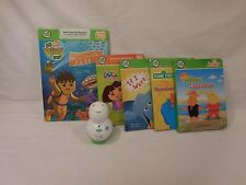 LeapFrog TAG Junior Reading System  Lot + Sesame + Diego + plus more Books