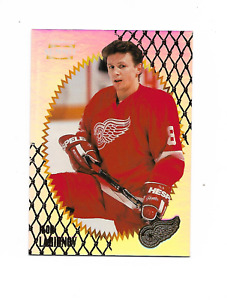 1996-97 Pinnacle Summit Premium Stock #40 Igor Larionov Detroit Red Wings