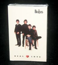 "BEATLES ""REAL LOVE /  BABY'S IN BLACK""  SEALED CASSETTE SINGLE"