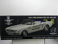 1/18 SCALE AMERICAN MUSCLE AUTHENTICS FORD MUSTANG 1964 1/2 INDY 500 PACE CAR