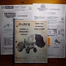 Allied Series 300 Hydraulic Farm Loader Owner Operator Manual P 920 369
