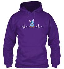 Blue Heeler Heartbeat Gildan Hoodie Sweatshirt