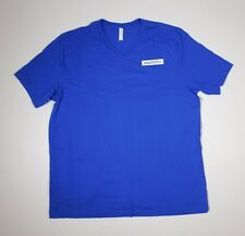 New Swatch Watch watches blue Promo T Shirt Xxl (2Xl) adult size V neck
