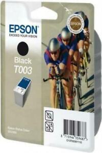 Original Epson Noir T003 Encre Cartouche C13T00301110