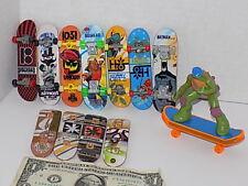 Vintage Tech Deck Lot 12 Toy Machine Fingerboard Mini Skateboard 96mm Rare