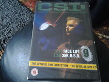 dvd CSI official dvd collection disc number 9 new sealed 85 mins long 1.17-1.18
