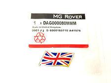 MG Rover flag emblem badge DAG000080MMM Brand new genuine