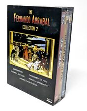 Fernando Arrabal Collection 2 [ 3 Discs ] DVD Region FREE NEW & SEALED