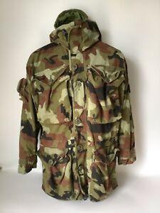 Irish Defence Force Issue Camouflage Smock Scare Paddy Flage Size Medium ( 29 )