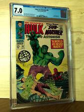 Tales to Astonish #95 (Sep 1967, Marvel) CGC 7.0 Hulk & Sub-Mariner