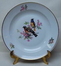 "Beautiful Vintage 12.5"" Birds Charger Plate Wall Hanging KAISER A.K. W Germany 6"