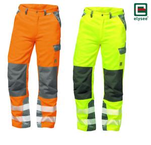 Warnschutzbundhose Arbeitshose elysee NIZZA PARIS 2 Farben Größen: 24-110