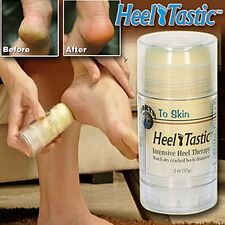 HEEL TASTIC INTENSIVE FOOT HEEL REPAIR W/NEEM & KARANJA OILS FAST RESULTS