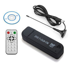 USB 2.0 Digital DVB-T SDR DAB FM HDTV Tuner Receiver Computer PC to TV Stick