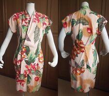 Vintage Kansai Yamamoto Lady's Aloha Ensembles Kimono Collar Jacket & Skirt