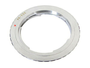 PK-EOS  Lens Adapter For PK Mount Lenses to fit Canon EOS Cameras - UK STOCK