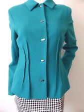 ANTHEA CRAWFORD  Long Sleeve Wool Jacket  Size 10 US 6 Made in Australia