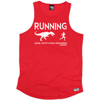 Running Vest Funny Mens Sports Performance Singlet Excuses Dont Burn Calories
