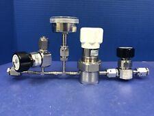 Veriflo Gas Stick w/ NPR959 Regulator, (2) 944I Manual Valves & 30-0-100 Gauge