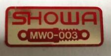 Honda CBR900RR Blade Fireblade Amortiguador Trasero ADVERTENCIA DE PRECAUCIÓN ETIQUETA 2