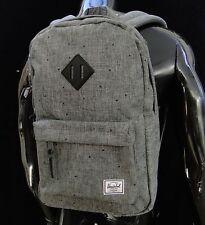 Herschel Supply Classic Settelment Raven Gray Womens Mens Backpack School bag