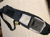 "Hunter Quiver Sunday Golf Bag Black & Silver 32"" NEW"