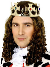 ORO Kings Crown UOMO REGALE Tiara adulti REALE Accessorio Vestito
