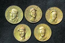 CITGO GAS 1969 COINS {Lot of 5} with WILLIE MCCOVEY