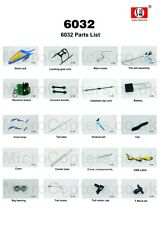 SH 6032 EXTREME Exceed 2.4GHz 4Ch Helicopter Complete Range of Spares Parts UK