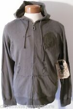 NWT Monarchy Consto Sempo Mens Full-Zip Hoodie XXL Ash MSRP$150