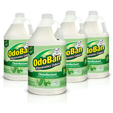 OdoBan Odor Eliminator and Disinfectant Concentrate, Eucalyptus Scent, 4 Gallons