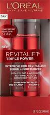 L'Oreal Revitalift Triple Power Intensive Skin Revitalizer Serum & Moisturizer
