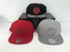 Atlanta Hawks Mitchell & Ness Men's NBA Adjustable Snapbacks Caps - New