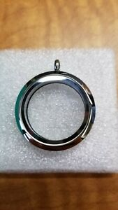 Origami Owl living locket large silver new