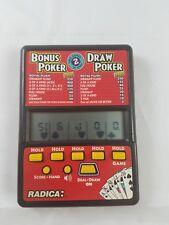 Radica Bonus & Draw Poker Electronic Game Model 517