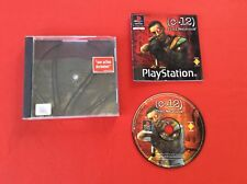 C-12 FINAL FUERZA SONY PS1 PLAYSTATION 1 PAL COMPLETO