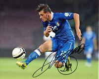 Foto Autografo Calcio Alessandro Florenzi Asta di Beneficenza Sport Coa Signed