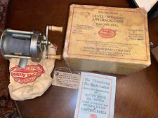 Early South Bend #1200 Fishing Casting Reel in Box & Bag