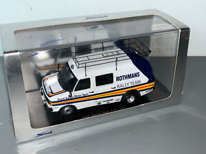 RALLY 1/43 SPARK LIMITED EDITION ROTHMANS FORD TRANSIT SERVICE VAN ASSISTANCE